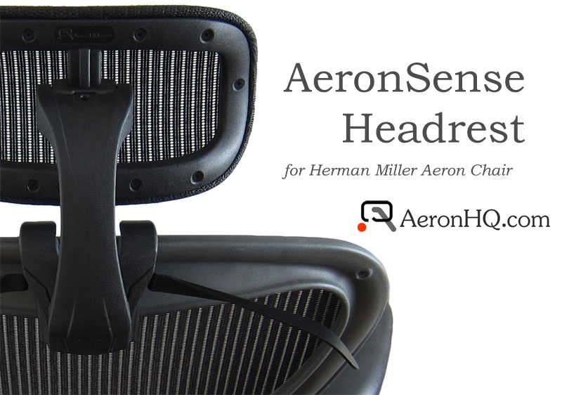 Best Aeron Chair Headrest With AeronSense Headrest For Herman